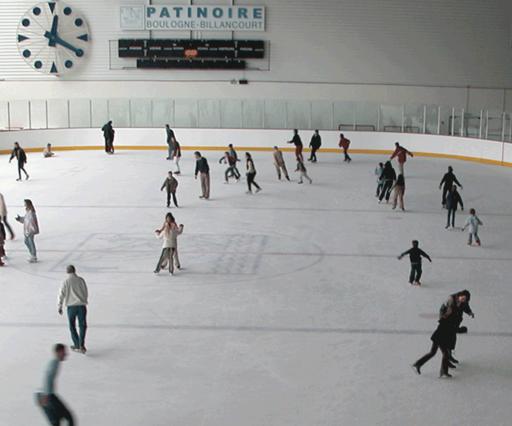 Les patinoires dans les hauts de seine for Boulogne billancourt piscine municipale
