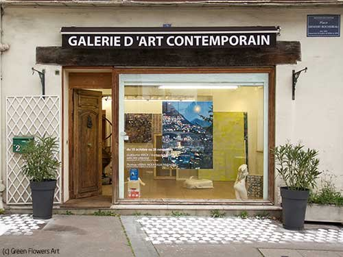 (c) Green Flowers Art Boulogne-Billancourt
