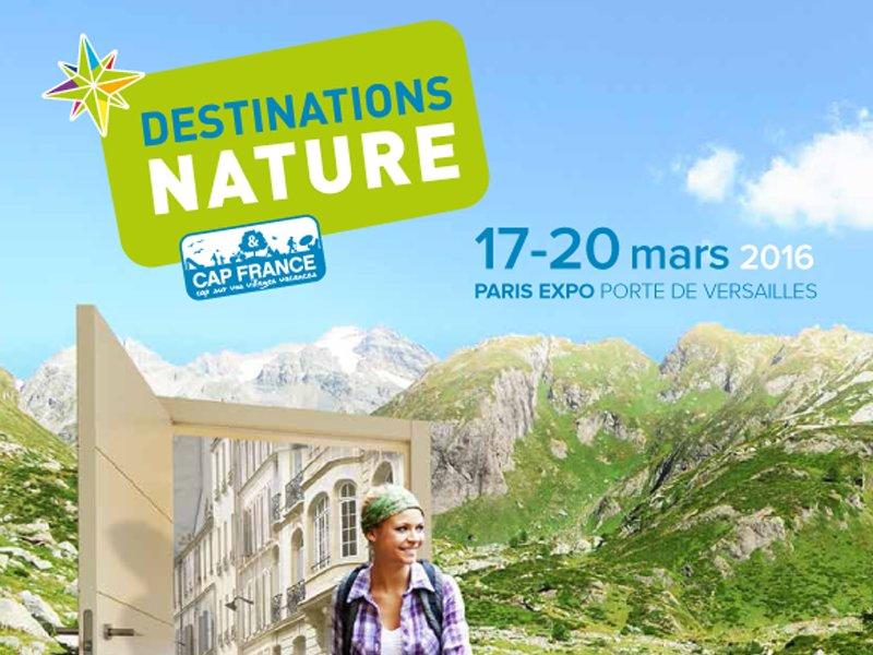 Hauts de seine tourisme sur le salon destinations nature 2016 - Paris expo porte de versailles 75015 paris ...