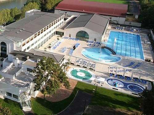 piscine du palais des sports sur l u0026 39 ile de puteaux  92