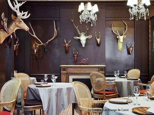 Restaurant Le Corot Ville DAvray