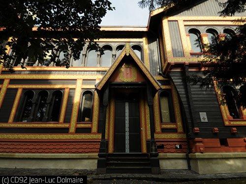 Visite comment e du mus e roybet fould courbevoie 92 for Architecture traditionnelle scandinave