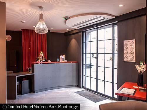 (c) Comfort Hotel Sixteen Paris Montrouge