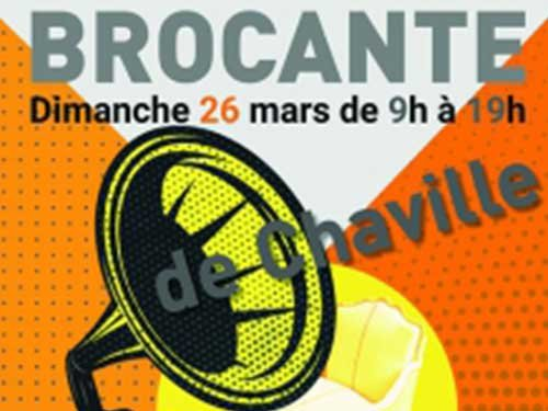 Affiche brocante Chaville