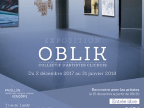 Exposition oblik art contemporain pavillon vend me - Office de tourisme de clichy ...