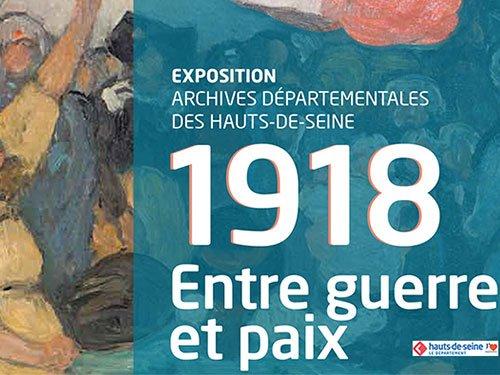 Expo 1918 Entre Guerre Et Paix